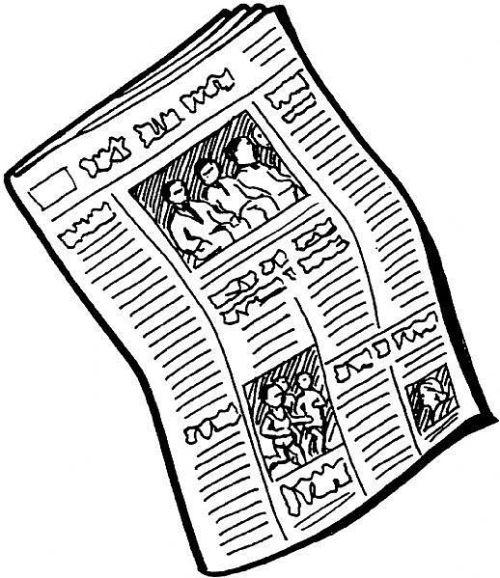 Newspaper_clipart